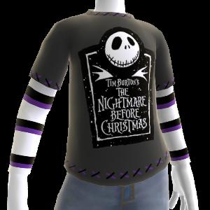 T-shirt com logótipo O Estranho Mundo de Jack