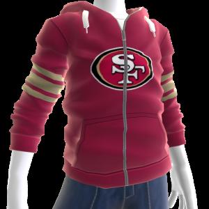 49ers Zip Hoodie