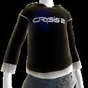 Черная толстовка Crysis 2