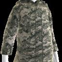 Military Camo Field Jacket