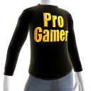 Black Gold Pro Gamer LS TShirt