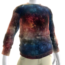 Red White & Blue Galaxy Sweatshirt