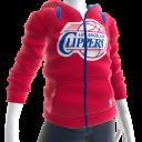 Clippers Zip Hoodie