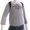 Silver Monogram Sweatshirt with Scout
