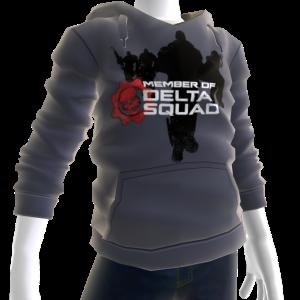 Bluza z kapturem drużyny Delta