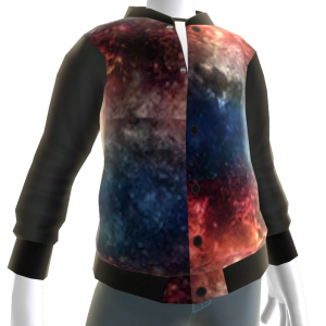 Red White & Blue Galaxy Jacket