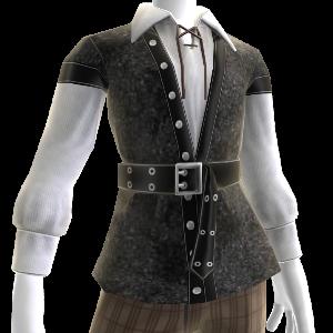 Camisa y chaleco de pirata