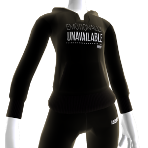 Emotionally Unavailable Hoodie