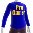 Blue Gold Pro Gamer LS Shirt