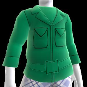 Green Army Men Jacket