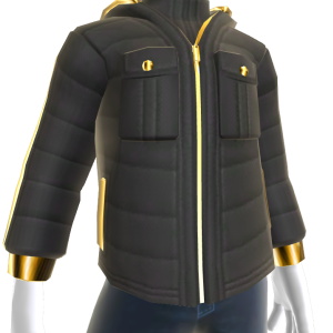 Bling Quilted Jacket