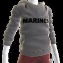 Marines Hoodie - Gray
