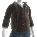 Cargo Jacket and Vest Combo