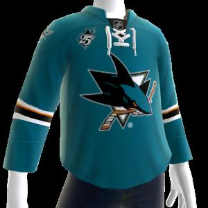 Sharks 2016 Home Jersey