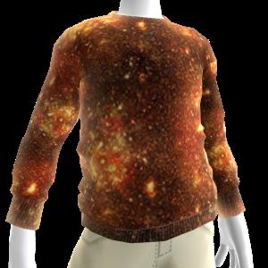 Fire Galaxy Sweatshirt