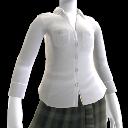 Blusa de Botões Branca
