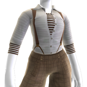 Shirt and Suspenders