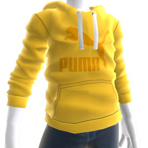 Archive Logo Hoodie - Yellow