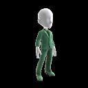 綠色燕尾服