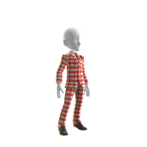 Coach Suit - Checkered