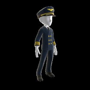 プロのパイロット