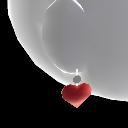 Pendientes de corazón