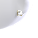 4ct Diamond Gold Studs