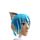 Anime Cat Ears Blue