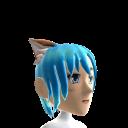 Anime Cat Ears Blue