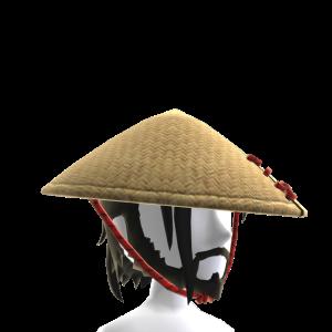 Samurai Bamboo Hat and Beard