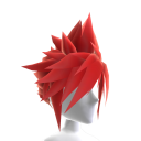 Anime Hero Hair - Red