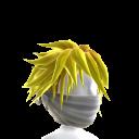 White Archer Mask - Yellow Hair