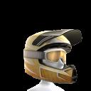 Motocross Helmet - Gold