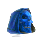 Blue Death Dealer Helmet