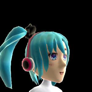 Anime Aqua Gamer Girl