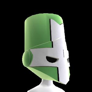 Green Knight Helmet