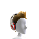 Fauxhawk with Headphones - White