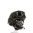 Military Patrol Helmet - Black