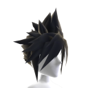 Anime Hero Hair - Black