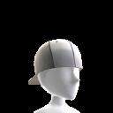Backwards Baseball Cap - White