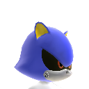 Casco di Metal Sonic