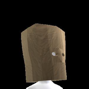 Paper Bag Helmet