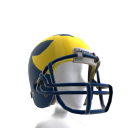 Michigan Football Helmet