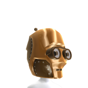Casco de androide