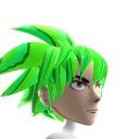 Epic Anime Hero 3 Green Chrome