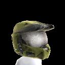 Mjolnir Mark VI Helmet- Green