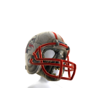 Football Zombie Helmet