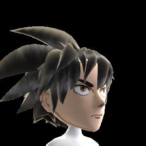Epic Anime Hero 3 Black