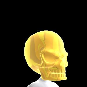 Epic Gold Skull Helmet