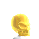 Epic Gold Skull Helmet